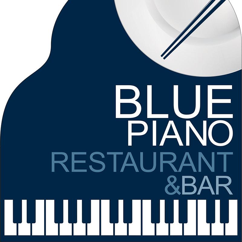 The Blue Piano Logo