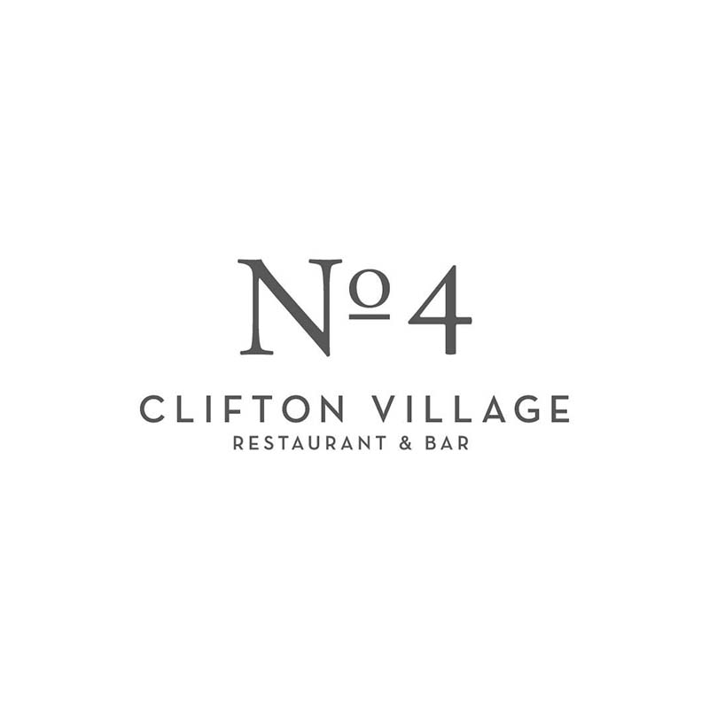 No. 4 Clifton Village Logo