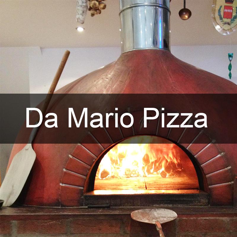 Da Mario Pizza Logo