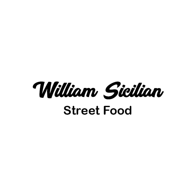 William Sicilian Street Food Logo