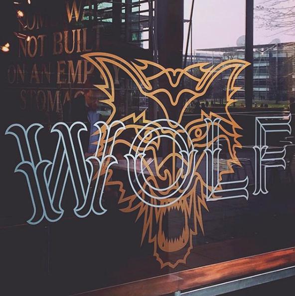 Wolf Manchester Logo