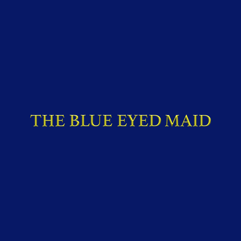 The Blue Eyed Maid Logo