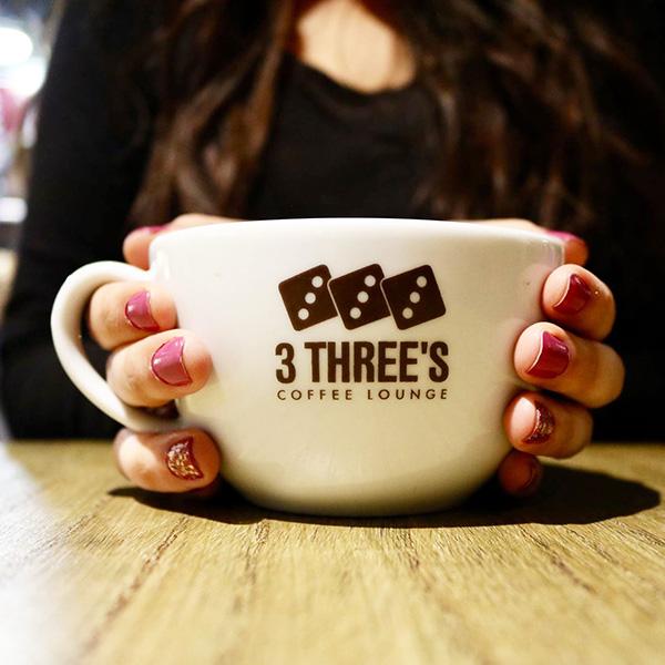 3 Three's Coffee Lounge Martineau Place Logo