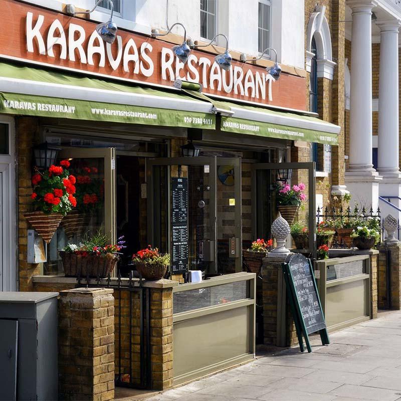 Karavas Restaurant Logo