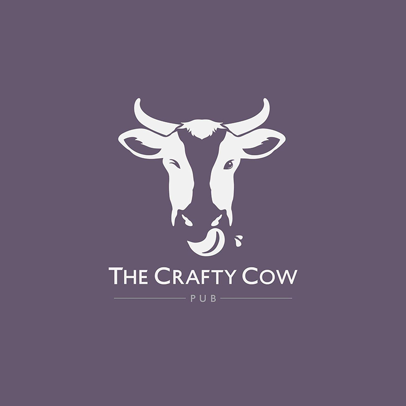 The Crafty Cow Logo