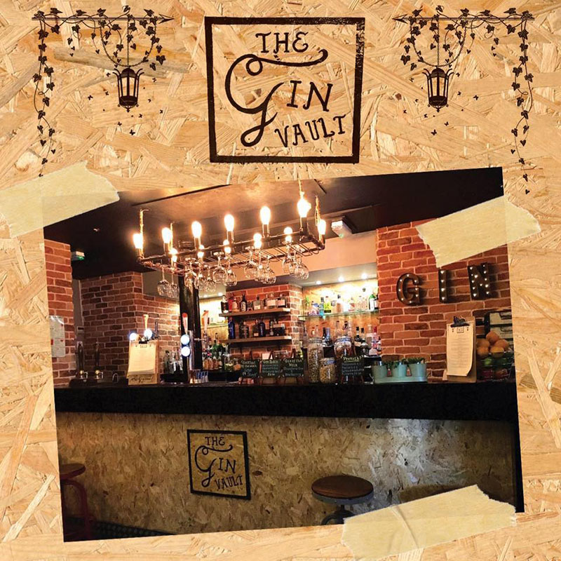 The Gin Vault Logo