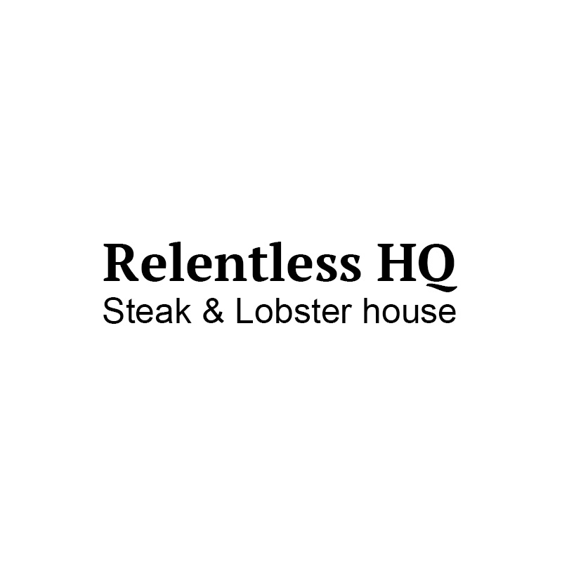 Relentless Steak & Lobster Logo