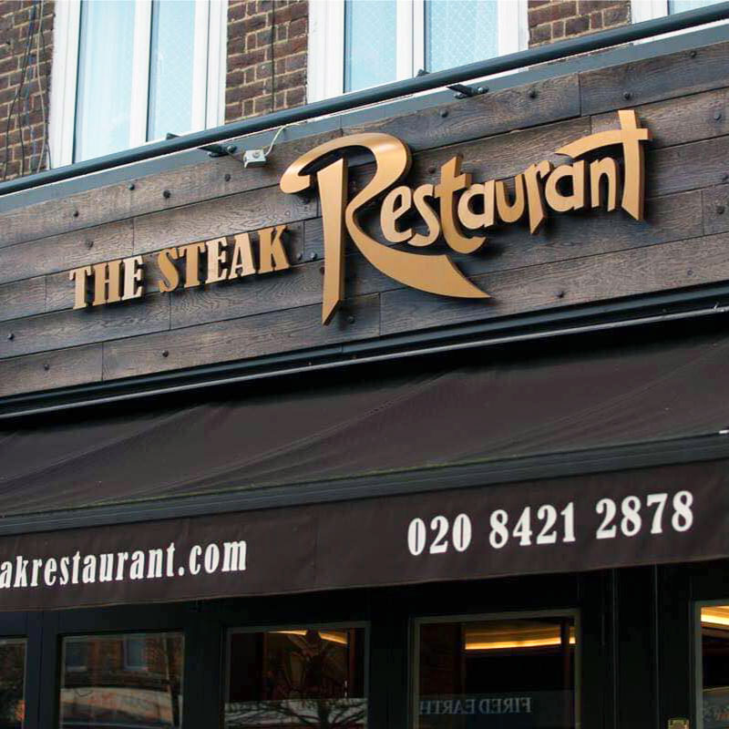 The Steak Restaurant Logo