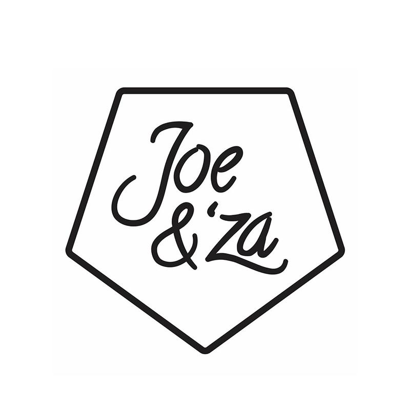 Joe & 'Za  Logo