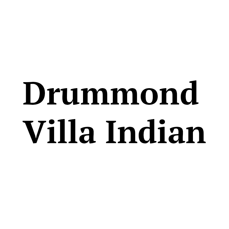 Drummond Villa Indian  Logo