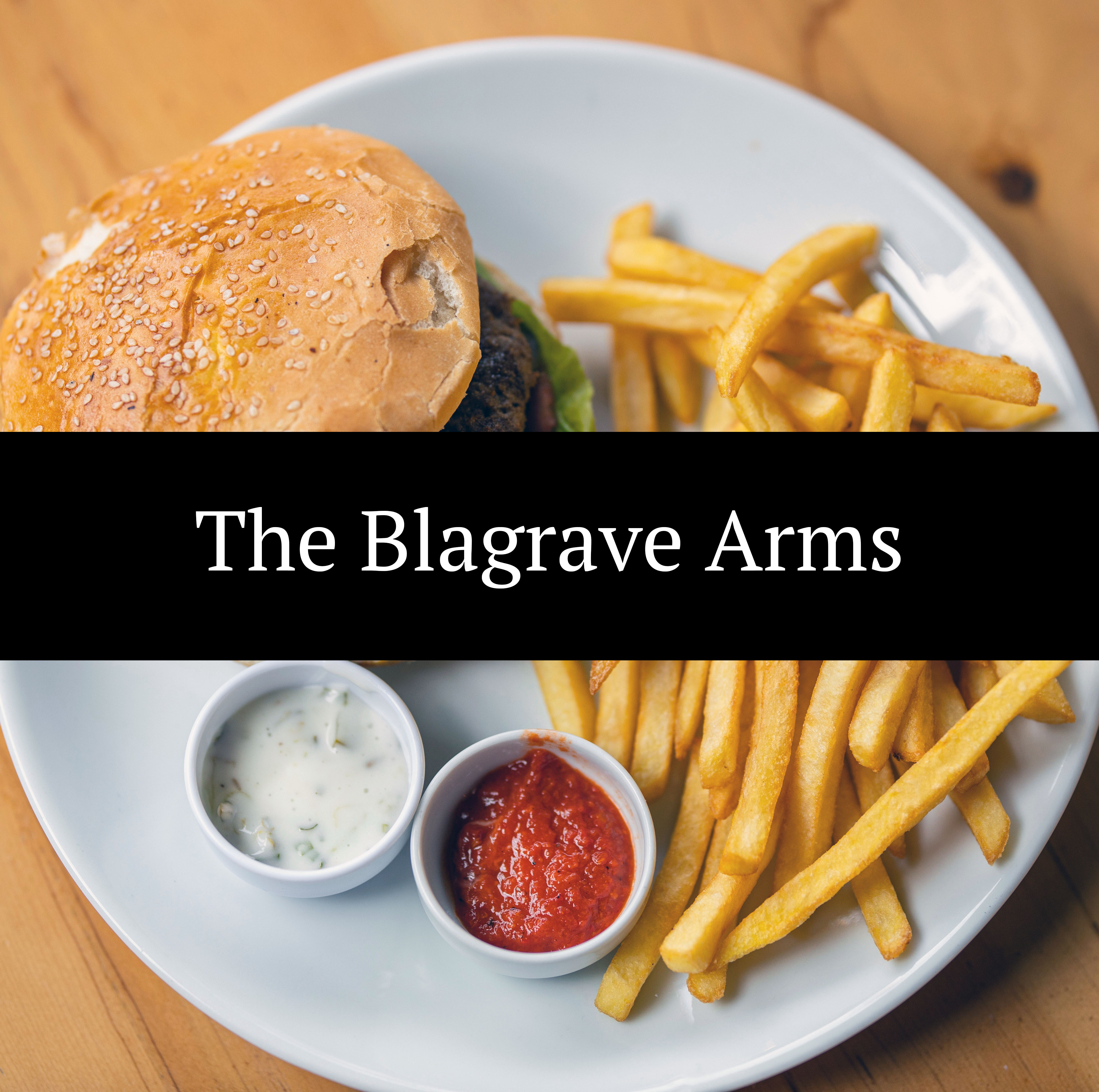 The Blagrave Arms Logo