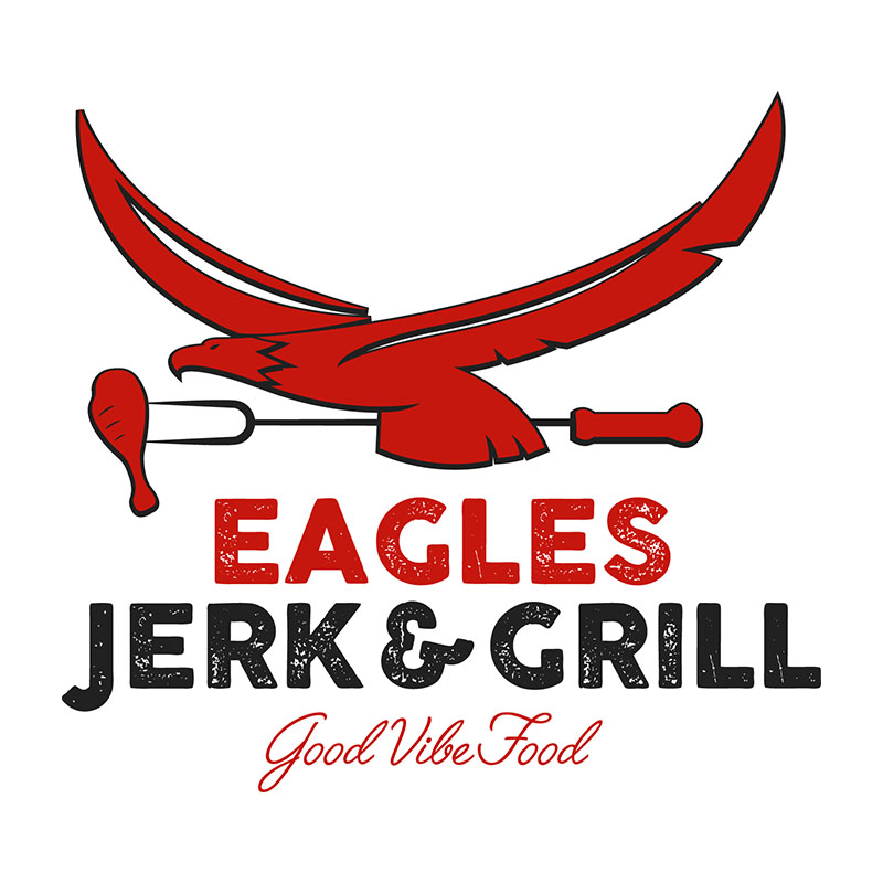 Eagles Jerk and Grill Logo