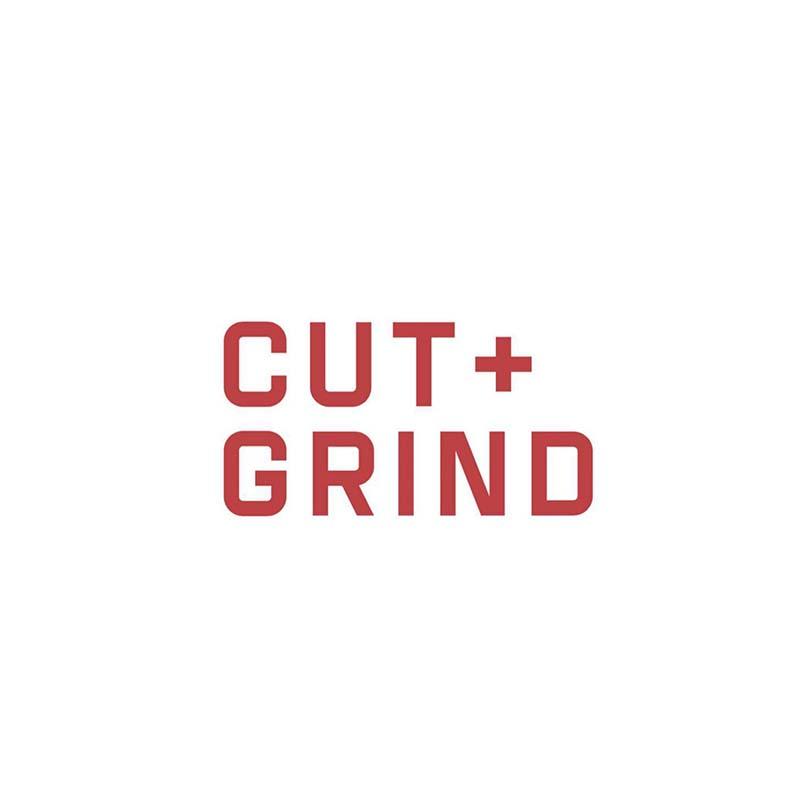 Cut + Grind Burgers Logo