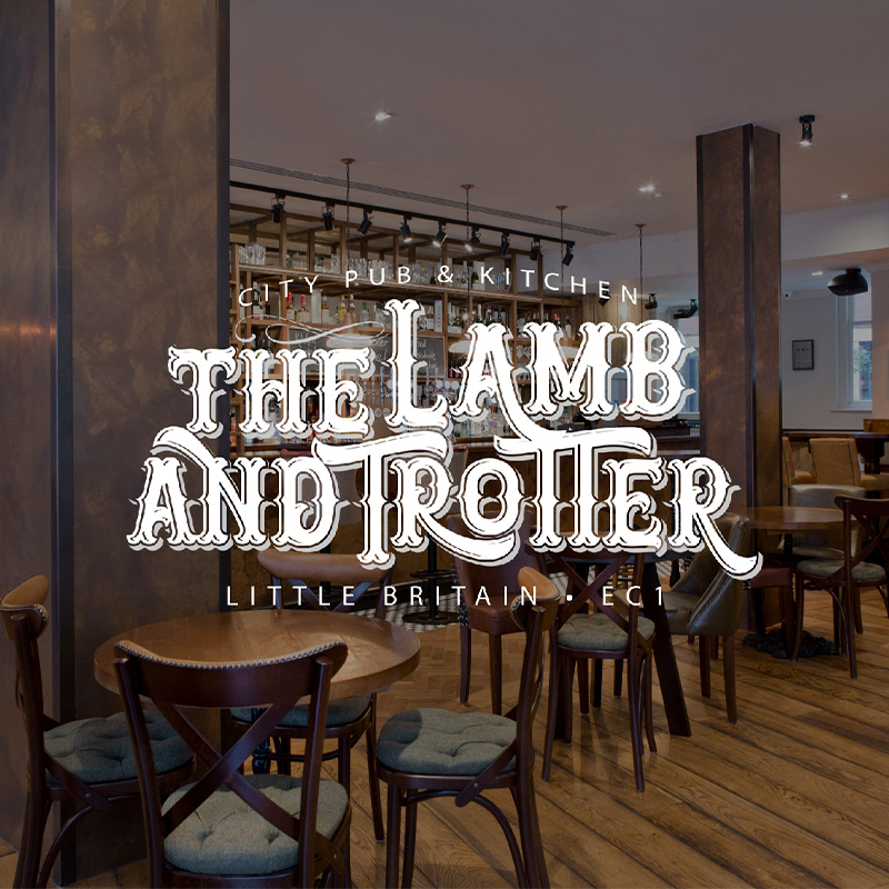 The Lamb and Trotter  Logo