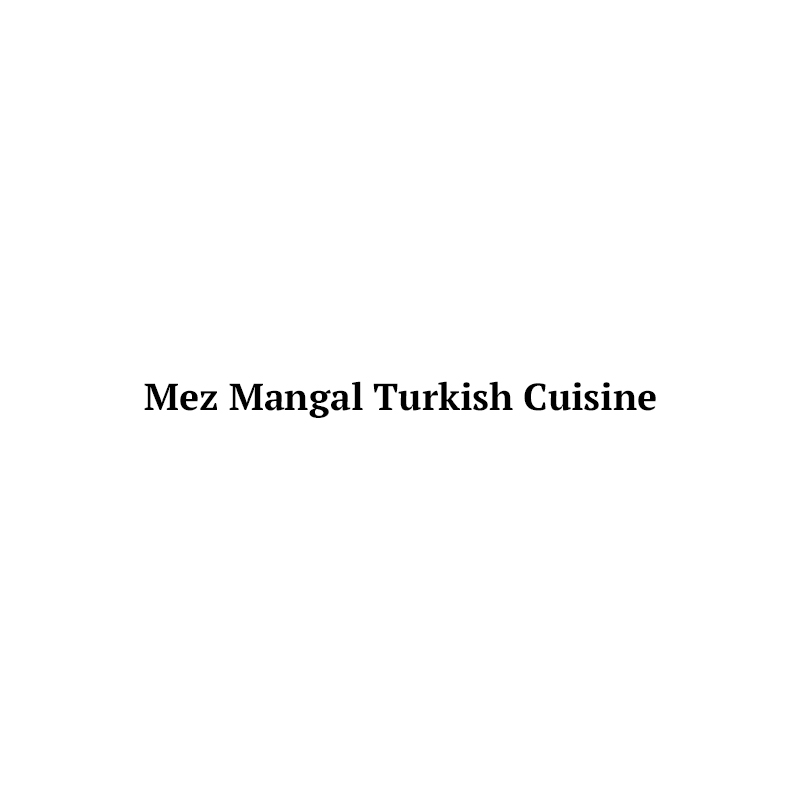 Mez Mangal Turkish Cuisine Logo